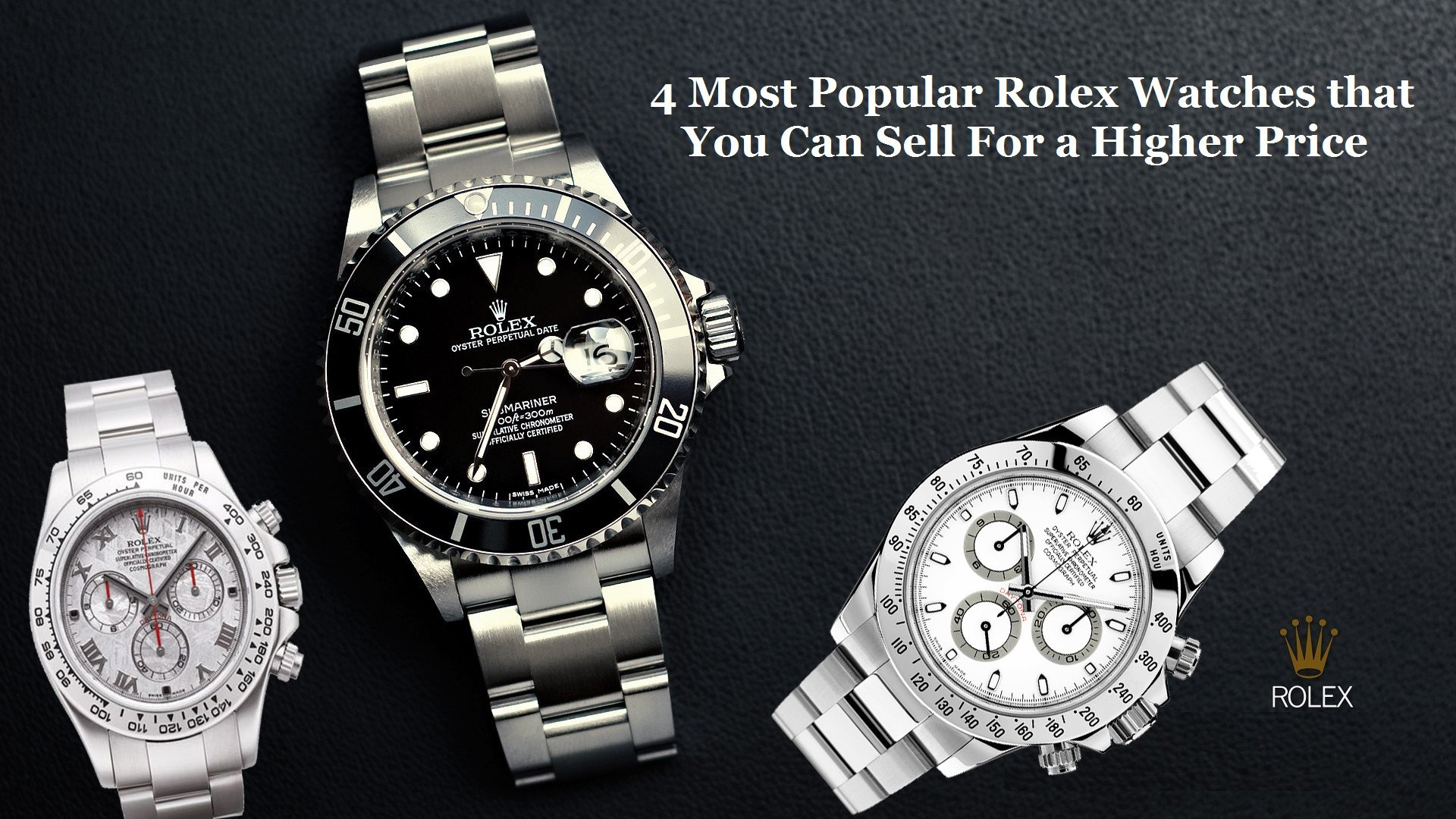 Popular Rolex Watches