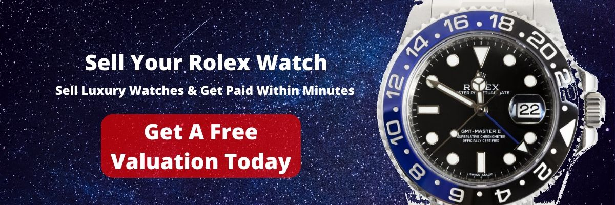 Get a free valuation today? Sell Rolex London