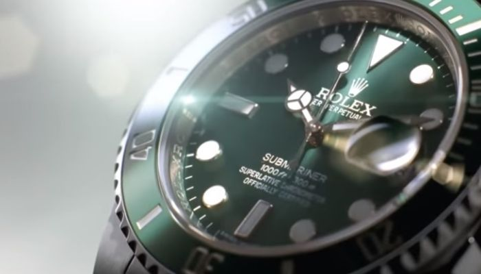 iconic rolex submariner watch