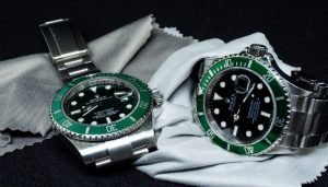 sell green rolex watches